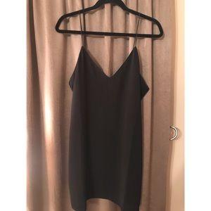 Tobi mini black dress
